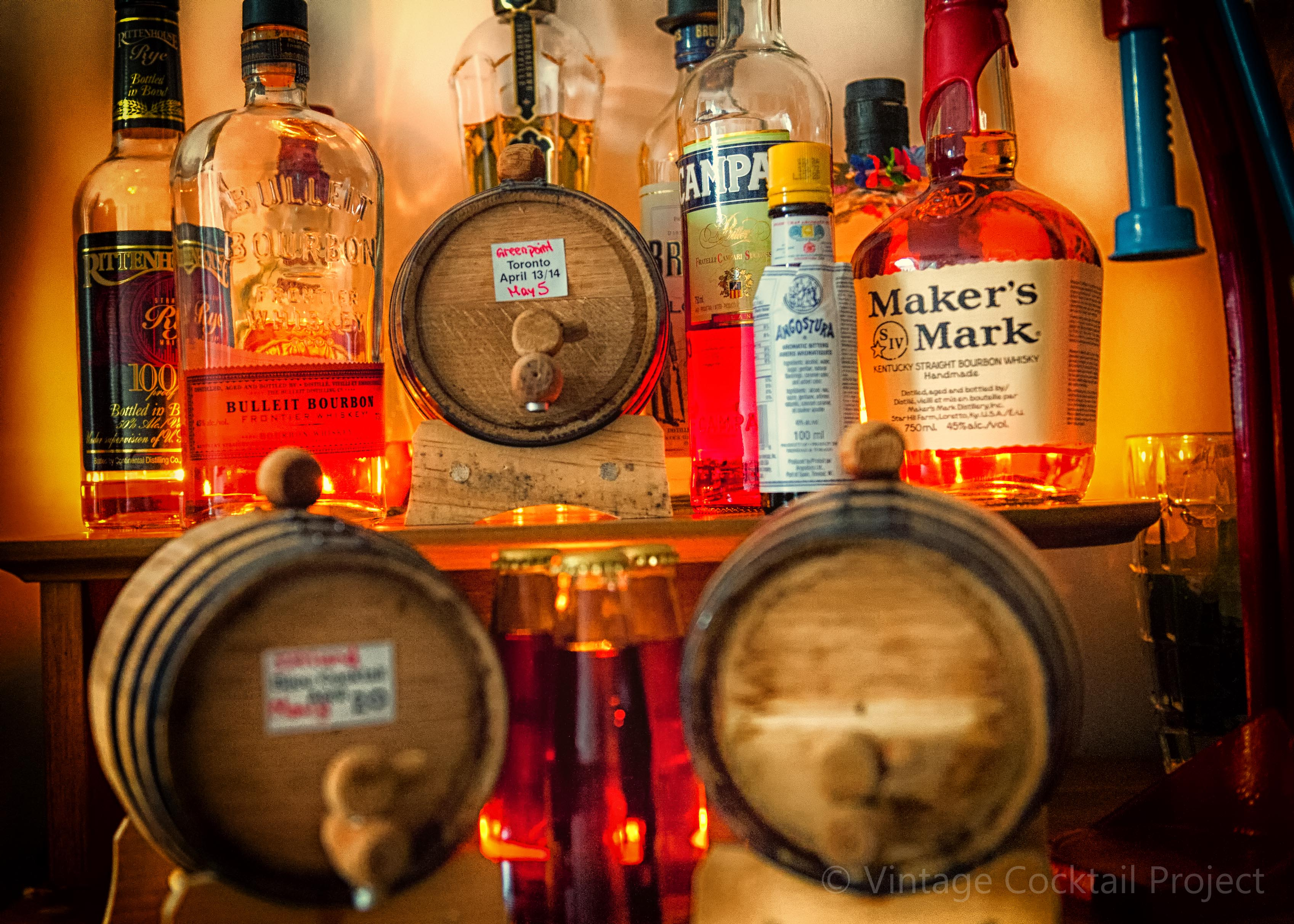 Booze Bottle and Barrels, a sight for thirsty eye