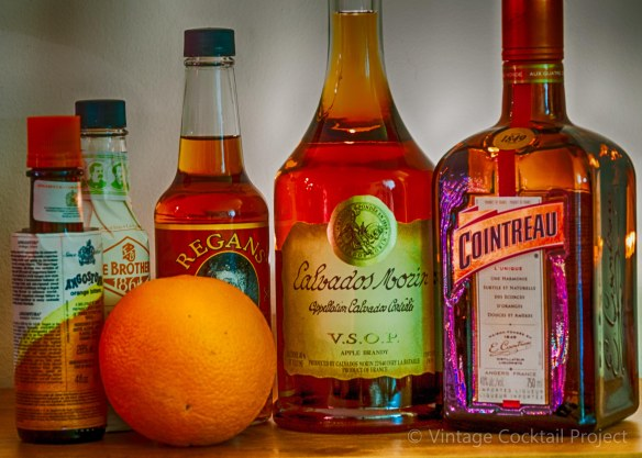 Calvados Cocktail ingredients